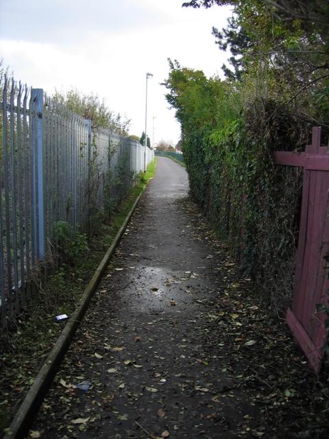 The Cinder Path, Saltney Ferry