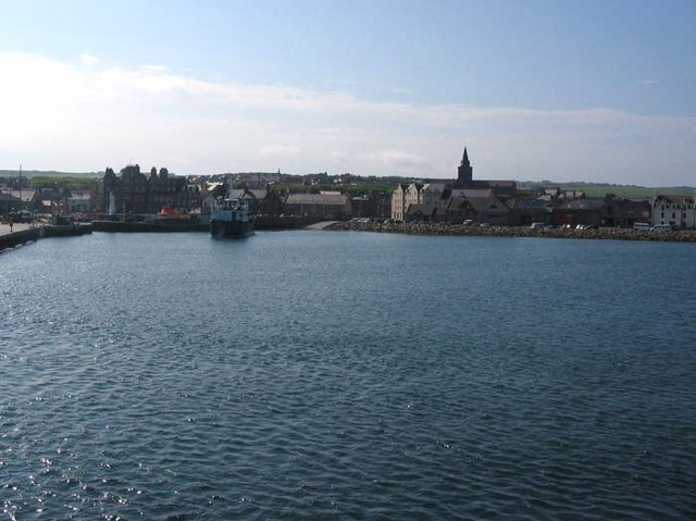Kirkwall from the Westray ferry