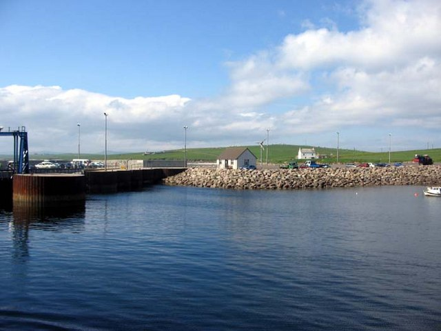 Arriving at Rapness, Westray