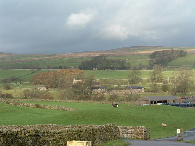 Cams House settlement, Low Abbotside, Wensleydale