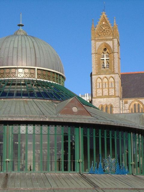 Rotunda, Fleet Walk and St John's Church, Torquay