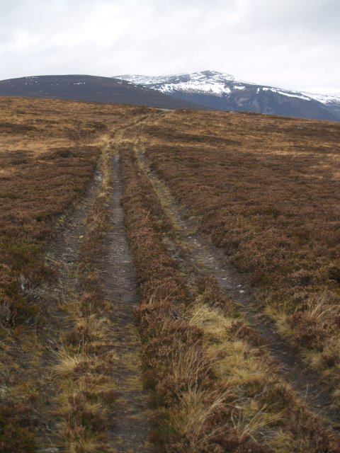 Landrover track, Creag Bhalg