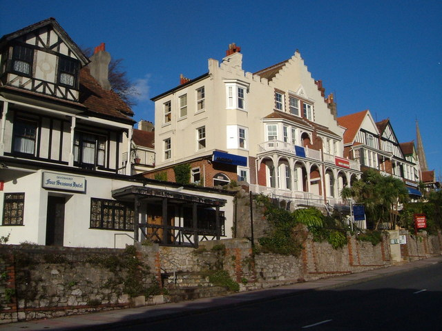 Hotels on Babbacombe Road, Torquay