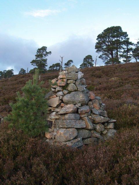 Monumental Cairn, Creag Bhalg