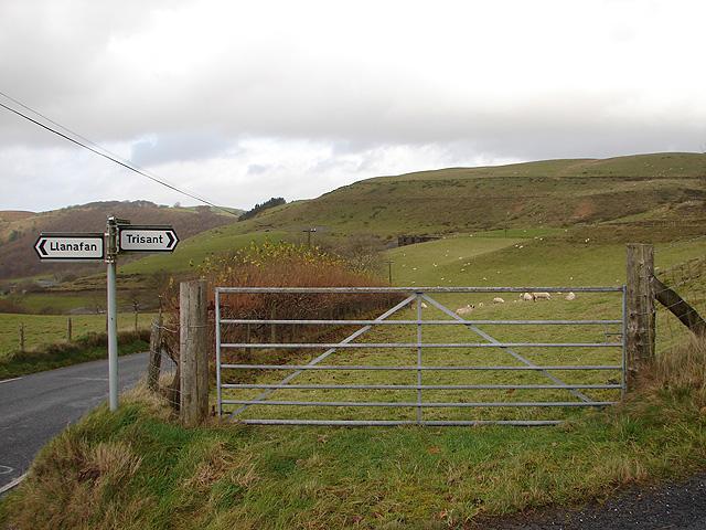 Farmland at Lletysynod