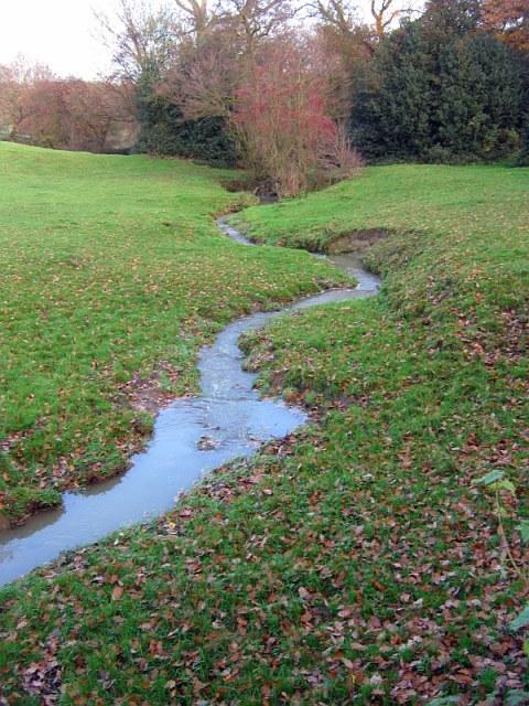 Brook below Stanley Farm, Stanley