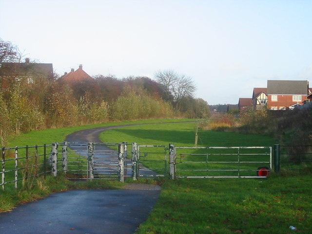 Walkway, Cocknage Lane