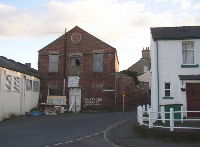 Old warehouse, Proctor Square, Wigton