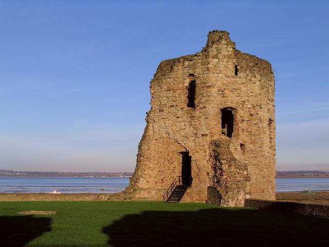 Part of Flint/ Fflint Castle