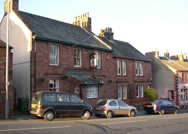 The Black-a-moor Hotel, King Street, Wigton