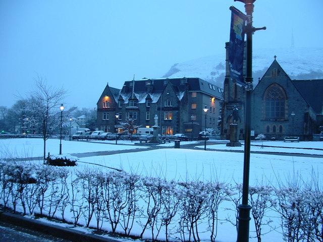 Alexandra Hotel, The Parade, Fort William.