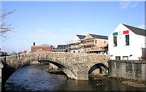 SS9079 : The Old Bridge - Yr Hen Bont, Bridgend by Tony Hodge