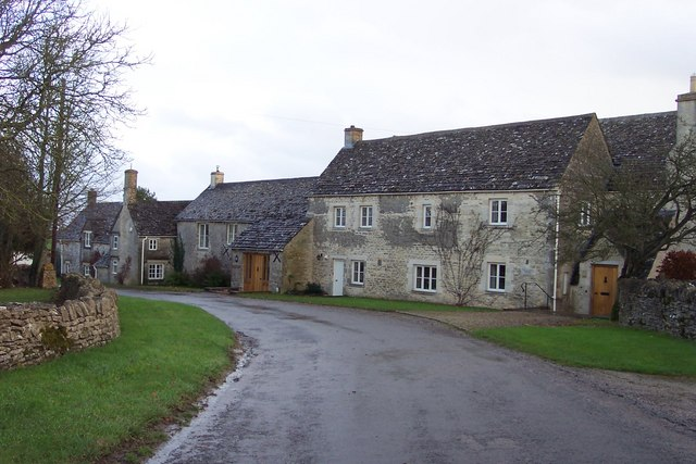 Chedworth Laines hamlet.