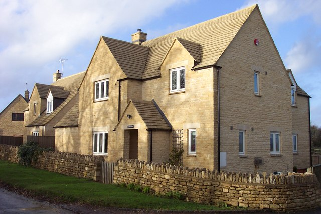 New Cotswold cottage, near Chedworth.