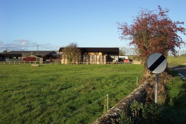 Farm on Bell Lane, Poulton.