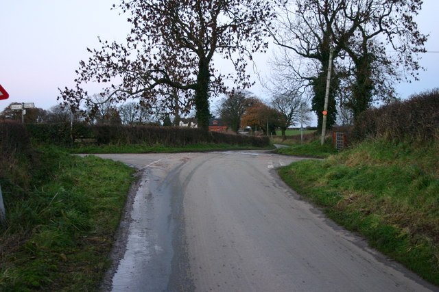 Country Lanes Cross Roads