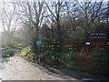 SE3810 : Entrance to Carlton Marsh Nature Reserve by Bill Henderson