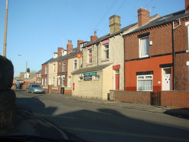The Post office, Dog Hill, Shafton