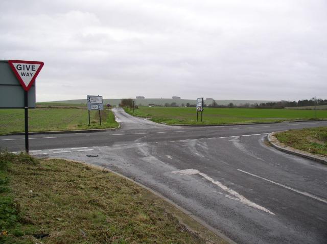 Crossroads on A4361
