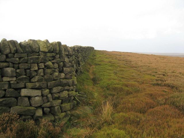 Boundary Wall on Carle Edge