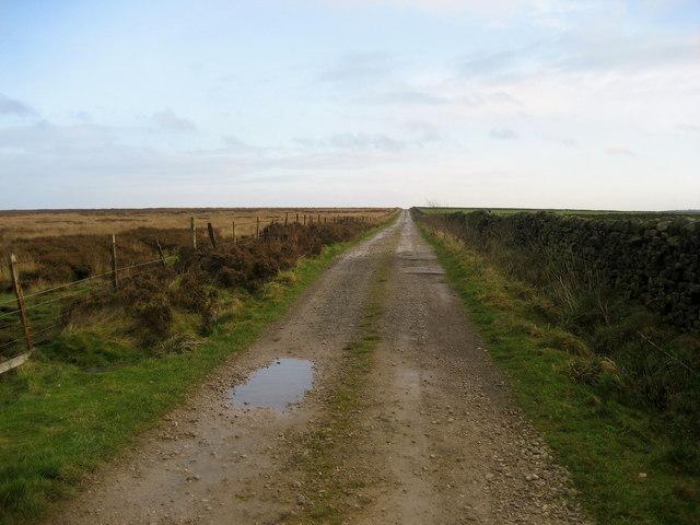 Lane over Round Hills