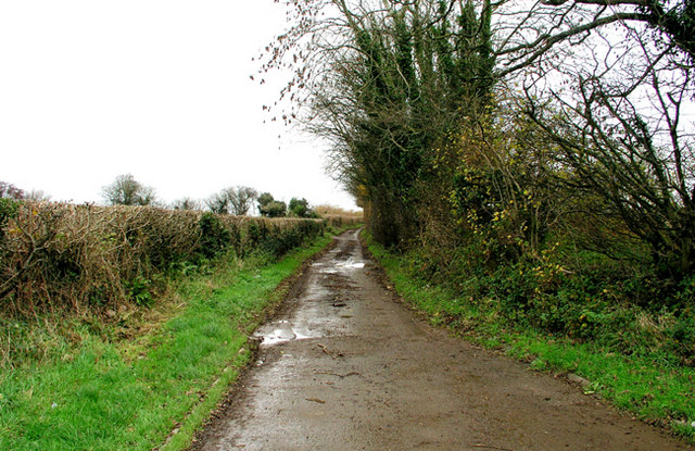 Country Lane between Twmpath and Penllyn