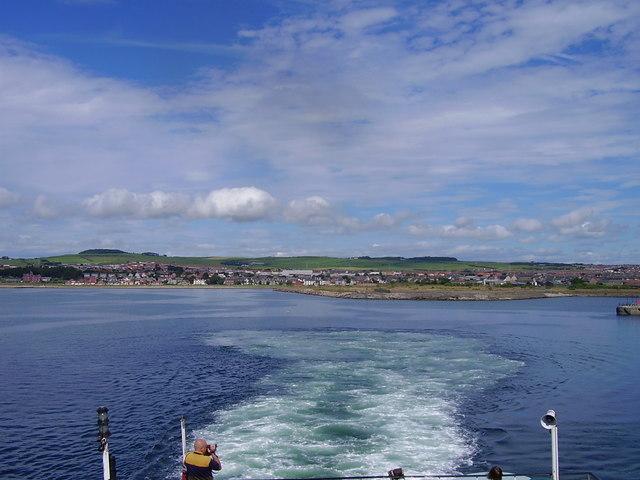 Ardrossan From Arran Ferry
