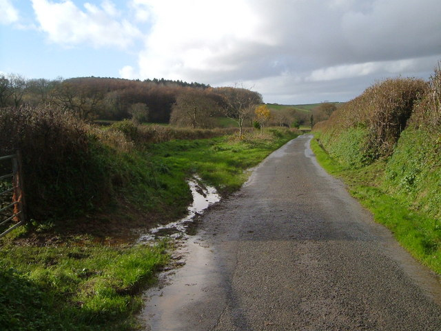 Lane near Waye Farm
