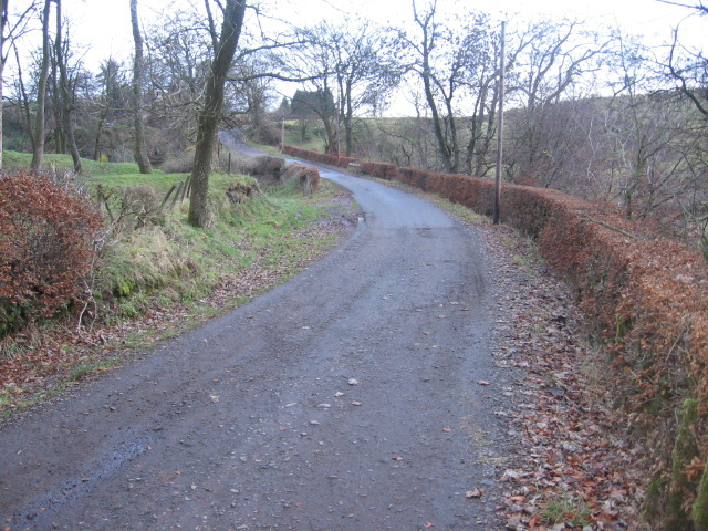 Road to Golland farm
