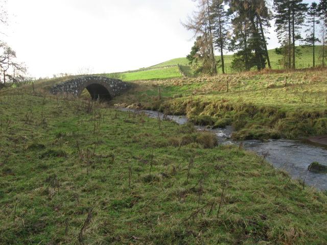 Bridge over Warroch West Burn