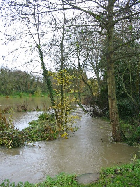 Flooding at Cleveley Oxfordshire