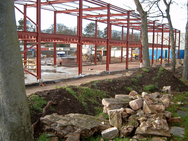 Nairn (new) Community Centre under construction