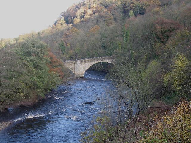 A Bridge Over the River Swale