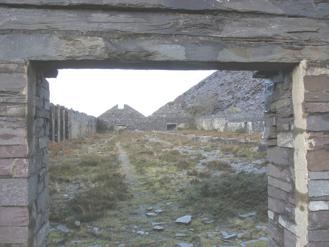 Inside the ruined No3 shed Mills