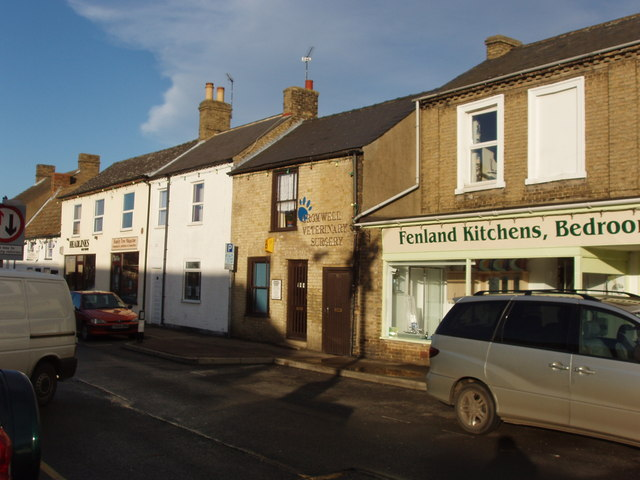 Shops in Great Whyte, Ramsey