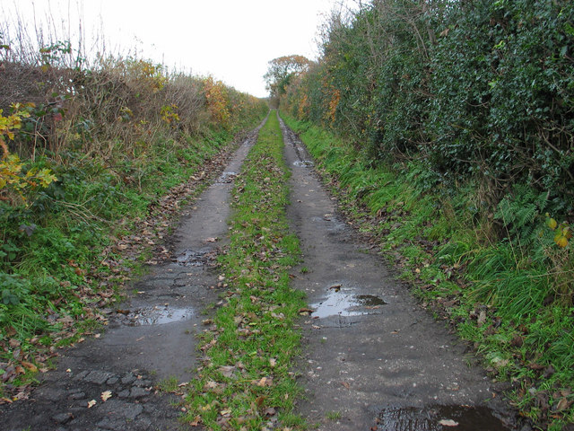 Track to Shaw's Farm