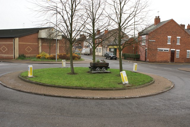 Stanton Hill roundabout