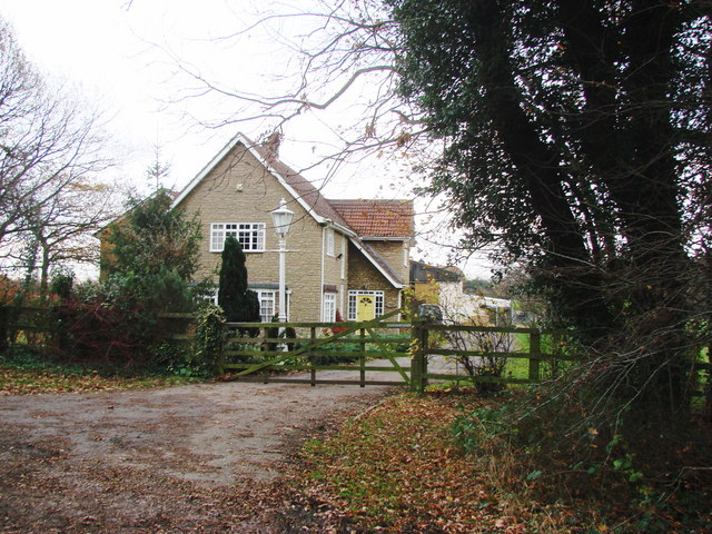 Farm House off Common Lane.