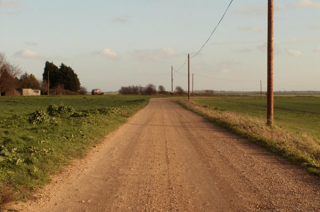 The end of New Hall Lane