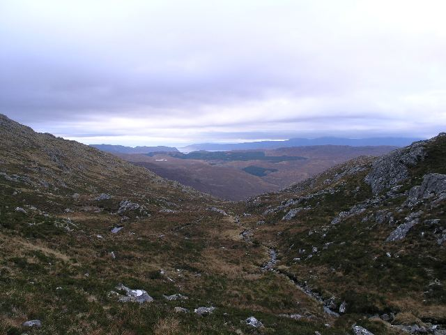 Stream on Ben Killilan by Creag Mhor