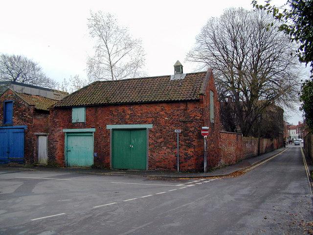 Corner of Soutergate and Marsh Lane