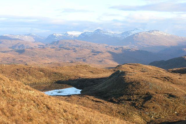 Lochan Dubha above Sallachy