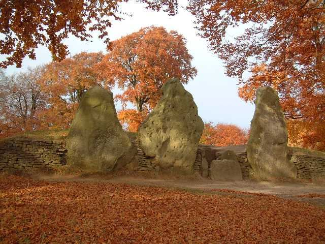 Wayland Smithy in Autumn