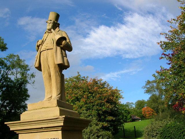 Statue: Alexandra Park