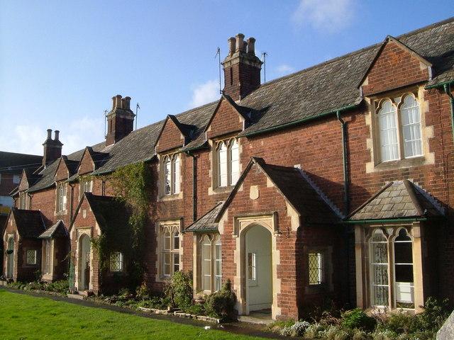Lethbridge's & Davey's Almshouses, Exeter