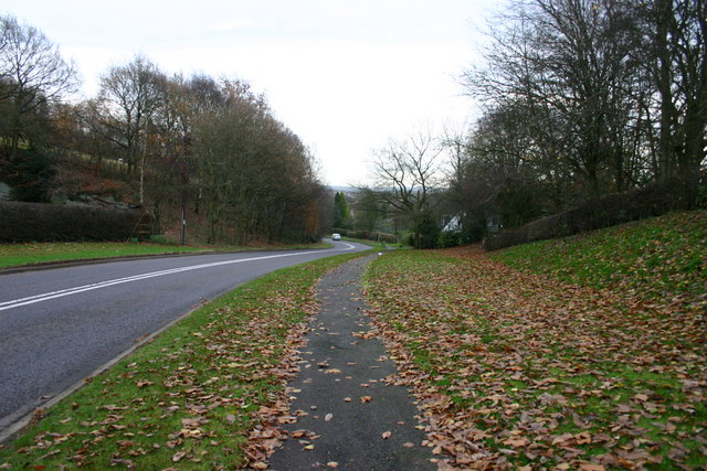 A51 towards Stone