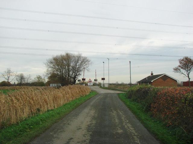 Haywood Level Crossing, Storrs Lane