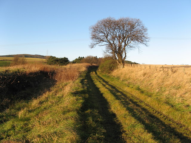 Disused Railway Line near Keith