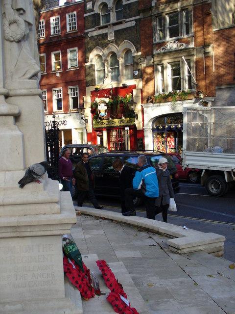 The Foot of Kensington Church Street