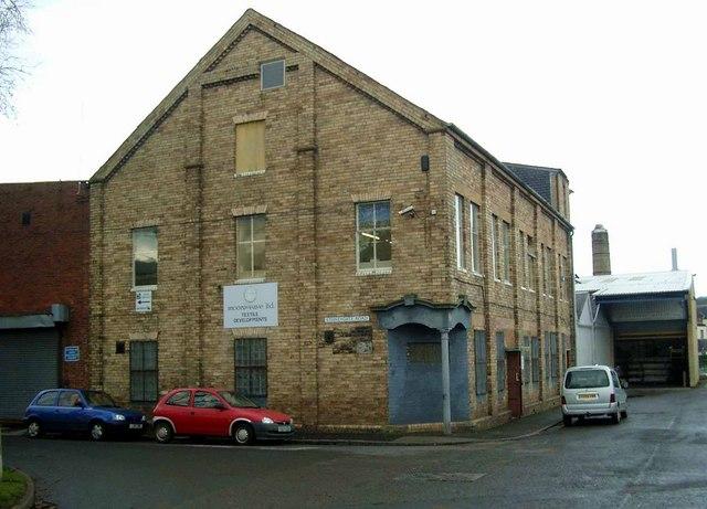 Textile mill in Newmilns